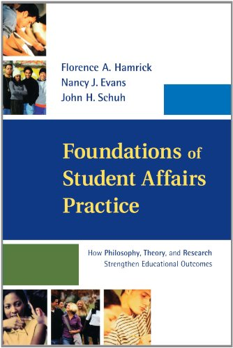 Foundations of Student Affairs Practice How Philosophy, Theory, and Research Strengthen Educational Outcomes  2002 edition cover