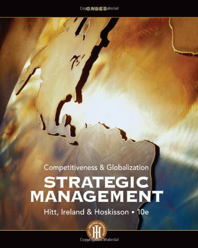 Strategic Management Cases Competitiveness and Globalization 10th 2013 edition cover