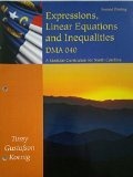 EXPRESSIONS,LINEAR...DMA 040 >CUSTOM<   N/A 9781285134246 Front Cover