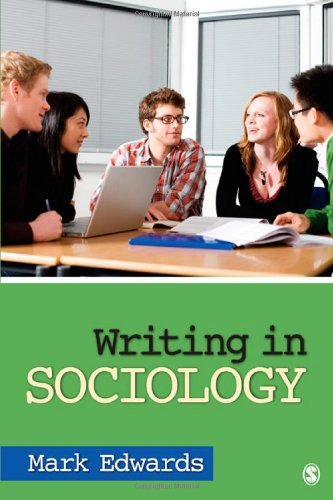 Writing in Sociology   2012 edition cover