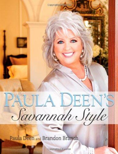Paula Deen's Savannah Style   2010 9781416552246 Front Cover