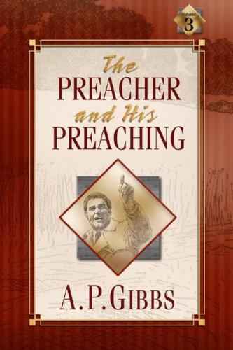 PREACHER+HIS PREACHING N/A edition cover