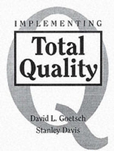 Implementing Total Quality  1st 1995 edition cover