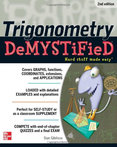 Trigonometry  2nd 2012 edition cover