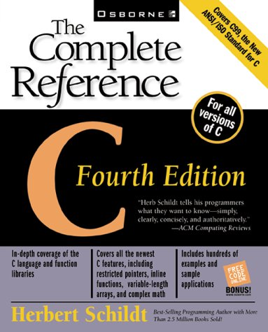 C The Complete Reference 4th 2000 (Revised) edition cover