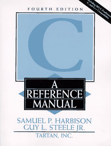 C A Reference Manual 4th 1995 edition cover