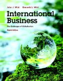 International Business The Challenges of Globalization 8th 2016 9780133866247 Front Cover