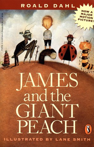 James and the Giant Peach   1961 edition cover