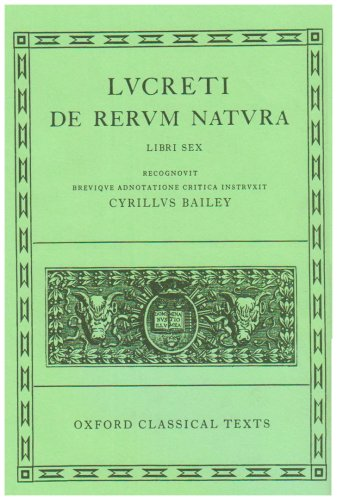 De Rerum Natura  2nd (Revised) edition cover