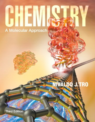 Chemistry A Molecular Approach 3rd 2014 9780321809247 Front Cover