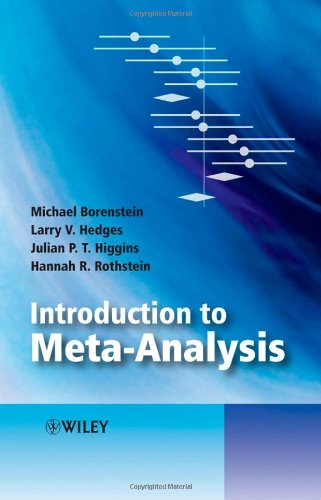 Introduction to Meta-Analysis   2008 edition cover