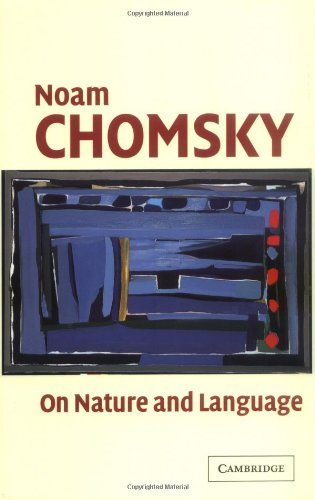 On Nature and Language   2002 edition cover