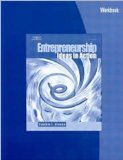 Entrepreneurship Ideas in Action 3rd 2006 (Workbook) 9780538441247 Front Cover