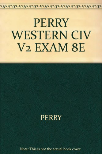 WESTERN CIV:IDEAS...:V.II >EXA N/A 9780618730247 Front Cover