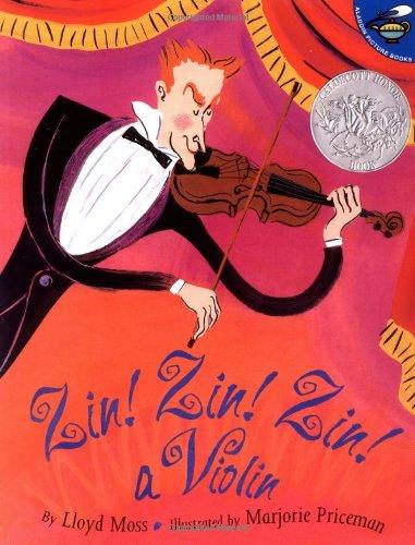 Zin! Zin! Zin! a Violin   2000 edition cover