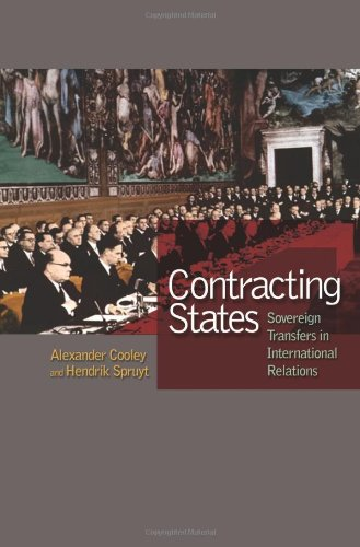 Contracting States Sovereign Transfers in International Relations  2009 9780691137247 Front Cover