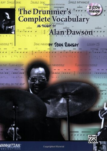 Drummer's Complete Vocabulary As Taught by Alan Dawson Book and 2 CDs  1998 edition cover