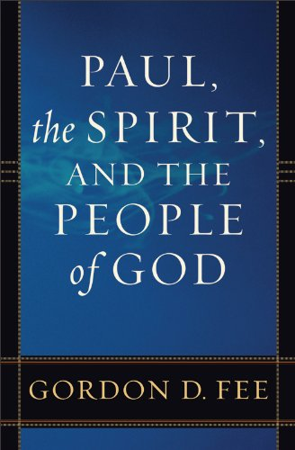 Paul, the Spirit, and the People of God  N/A edition cover