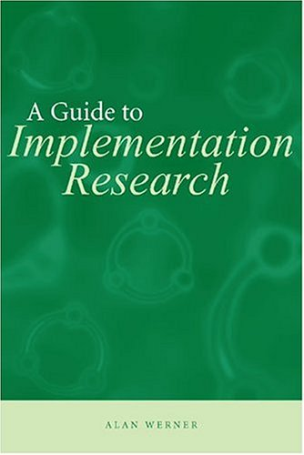 Guide to Implementation Research   2004 edition cover