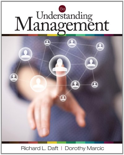 Understanding Management  8th 2013 edition cover