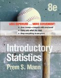 Introductory Statistics:   2012 edition cover