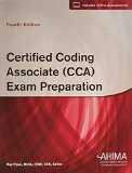 Certified Coding Associate (CCA) Exam Preparation, Fourth Edition   2014 edition cover