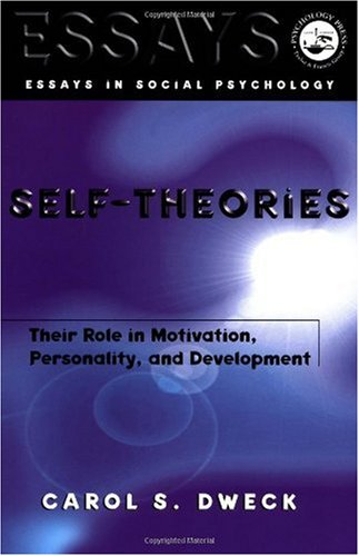 Self-Theories Their Role in Motivation, Personality, and Development  1999 9781841690247 Front Cover