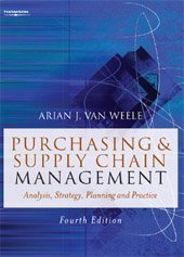 Purchasing and Supply Chain Management  4th 2005 edition cover