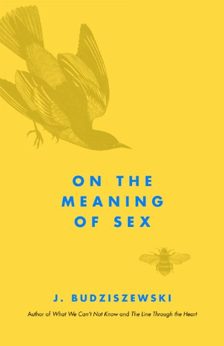 On the Meaning of Sex   2011 9781935191247 Front Cover