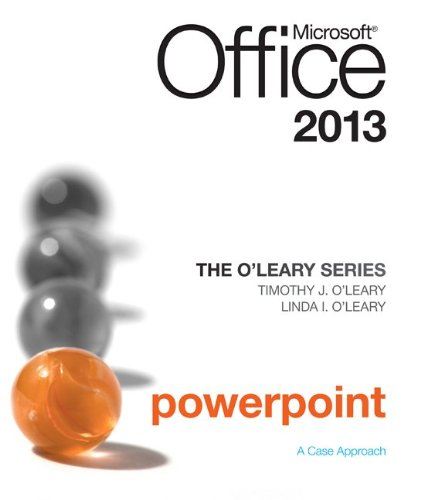 Microsoft Office Powerpoint 2013   2014 edition cover