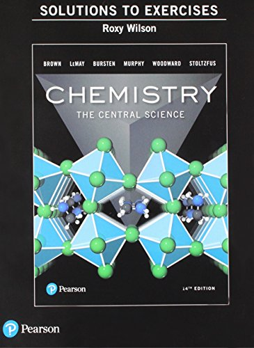 Chemistry The Central Science 14th 2018 9780134552248 Front Cover