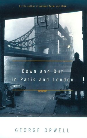 Down and Out in Paris and London   1972 (Reprint) edition cover