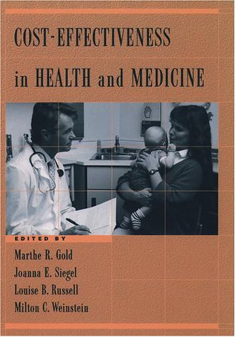 Cost-Effectiveness in Health and Medicine   1996 edition cover