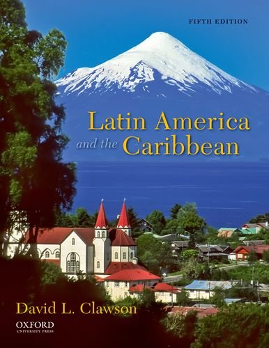 Latin America and the Caribbean Lands and Peoples 5th 2012 edition cover