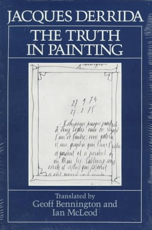 Truth in Painting   1987 edition cover