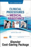 Clinical Procedures for Medical Assistants - Text and Study Guide Package  9th edition cover