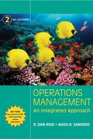 Operations Management An Integrated Approach 2nd 2005 (Revised) 9780471347248 Front Cover