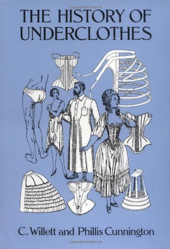 History of Underclothes  Reprint  edition cover