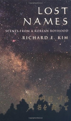 Lost Names -Scenes from Korean Boyhood   1998 edition cover