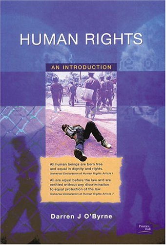 Human Rights An Introduction  2003 edition cover