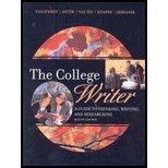 COLLEGE WRITER-W/PLAGIARISM GD 2nd 2006 9780618829248 Front Cover