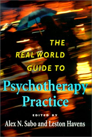 Real World Guide to Psychotherapy Practice   2000 edition cover
