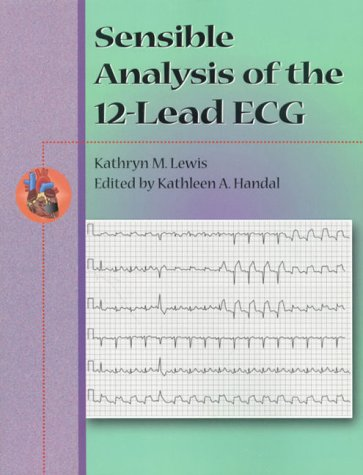 Sensible Analysis of the 12-Lead ECG   2000 9780766805248 Front Cover