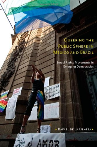 Queering the Public Sphere in Mexico and Brazil Sexual Rights Movements in Emerging Democracies  2010 edition cover