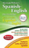 Merriam-Webster's Spanish-English Dictionary  2nd 2014 (Revised) edition cover