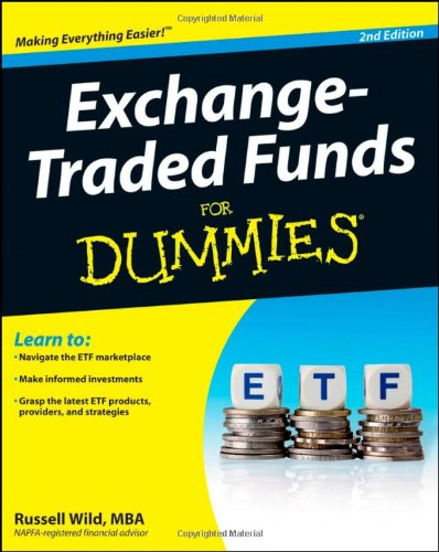 Exchange-Traded Funds for Dummies  2nd 2012 edition cover