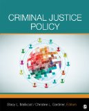 Criminal Justice Policy   2014 edition cover