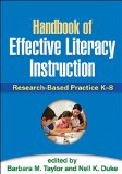 Handbook of Effective Literacy Instruction Research-Based Practice K-8  2013 edition cover