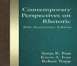 Contemporary Perspectives on Rhetoric:   2014 edition cover