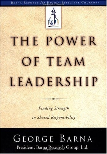 Power of Team Leadership Achieving Success Through Shared Responsibility  2001 edition cover